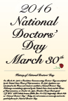 Doctors' Day 2016 Free Poster