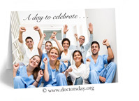 National Doctors Day Card Greeting calendar gift