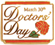 doctors' day lapel pin
