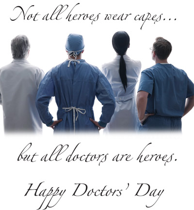 National doctors day greeting cards doctor gifts 2012free poster copyright this image may be used by hospitals and medical facilities to send doctors day greetings to their physicians via email only and may not be m4hsunfo Images